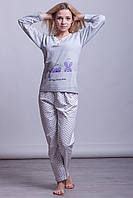Женская теплая пижама Asma Турция 1005