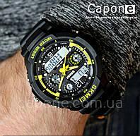 Фото! Skmei 0931 Yellow / Оригинальные спортивные часы S-Shock