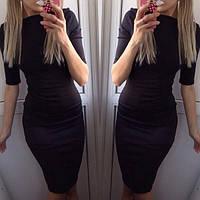 Классическое платье - футляр Батал
