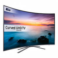 Телевизор Samsung UE49M6302 (PQI 900 Гц, Full HD, Smart, Wi-Fi, DVB-T2, изогнутый экран)