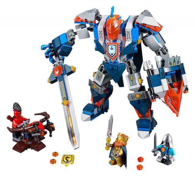Детский конструктор Bela Робот Короля 10487 серии Nexo Knights
