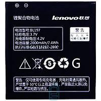 Аккумулятор Lenovo BL197 2000 mAh для S899T, S720, A800, A798T AAAA/Original тех.пакет