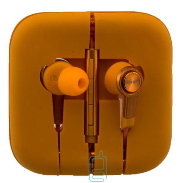 Наушники с микрофоном Xiaomi Piston V3 оранжевые