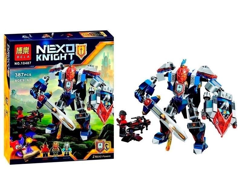 Конструктор Nexo Knights Bela 10487 Королевский робот 387 деталей