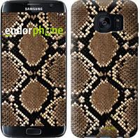 "Чехол на Samsung Galaxy S7 Edge G935F Кожа змеи ""901c-257-6129"""