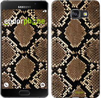 "Чехол на Samsung Galaxy A7 (2016) A710F Кожа змеи ""901c-121-6129"""