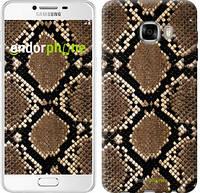 "Чехол на Samsung Galaxy C7 C7000 Кожа змеи ""901u-302-6129"""