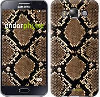 """Чехол на Samsung Galaxy E5 E500H Кожа змеи """"901c-82-6129"""""""