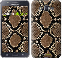 "Чехол на Samsung Galaxy J7 J700H Кожа змеи ""901c-101-6129"""