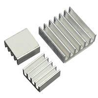 3x Алюминиевый радиатор для Raspberry PI, комплект