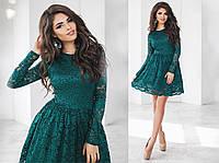 Женское нарядное платье гипюр, фото 1