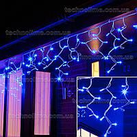 """Гирлянда """"Бахрома"""" 5 м. х 0,6 м уличная, 150 LED Синий"""