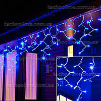 "Гирлянда светодиодная уличная ""Бахрома"" 3 х 0,6 м, 120 LED Premium Light (мерцание Flash) Синий"