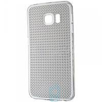 Чехол силиконовый Baseus Lustre Samsung S6 Edge G925 затемненный