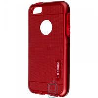 Чехол пластиковый Motomo iPhone 5 красный