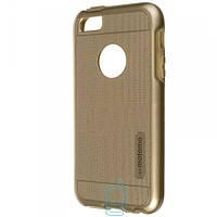 Чехол пластиковый Motomo iPhone 5 золотистый