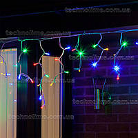 "Гирлянда светодиодная уличная ""Бахрома"" 3 х 0,6 м, 120 LED Premium Light (мерцание Flash) Разноцветный"