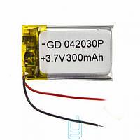 Аккумулятор GD 042030P 400mAh Li-ion 3.7V