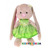 Мягкая игрушка Jack&Lin Зайка Лин в салатовом платье JL-020-25