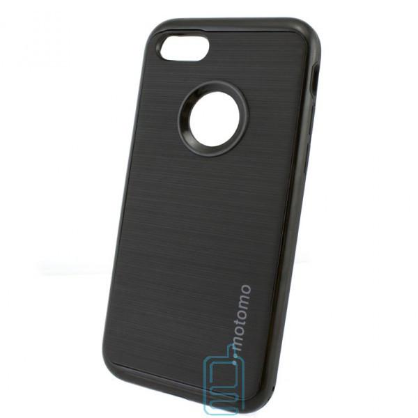 Чехол-накладка матовый Motomo Apple iPhone 7 черный