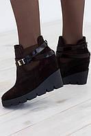 Donna M ботинки RS 1789 кожа/байка