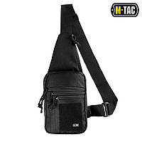 M-Tac Сумка-кобура наплечная с липучкой Black черная