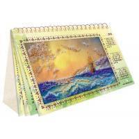 Набор для вышивки бисером Календарь Шум прибоя