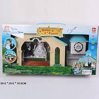 Животные флоксовые 012-09 (18шт) Happy Family, Сведебная церемония,  в короб.39*20,5*10,5см
