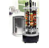 Электрошашлычница Domotec BBQ шашлычница GH8612 1000W, электромангал, мангал, шашлык дома