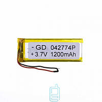Аккумулятор GD 042774P 1200mAh Li-ion 3.7V
