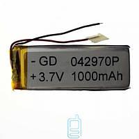 Аккумулятор GD 042970P 1100mAh Li-ion 3.7V