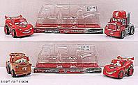 Набор машин ТАЧКИ 826-108/10 (72шт/2) 2 вида в наборе, под слюдой 13*7*8см