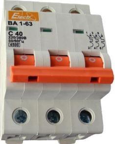 Выключатель автоматический ВА1-63 3р/С6А 4,5кА