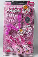 Аксессуары для девочек SF255661 (88шт/2)фен,туфли,расческа,зеркало,ногти на планш.