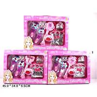 Аксессуары для девочек L849 (24шт/2) 3 вида,волш.пал,туфли,сумочка,акс, в кор.45*34*6,5см