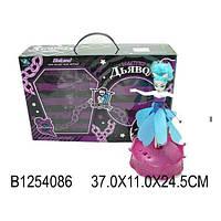 Игрушка кукла летающая фея с музыкой и огоньками