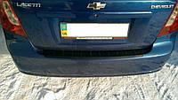 Накладка на задний бампер Chevrolet Lacetti sd (2003-2013)
