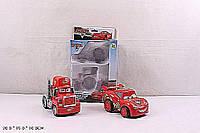 Набор машин ТАЧКИ 826-112 (96шт/2) 2шт в наборе, в коробке 20*15*10см