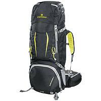 Рюкзак туристический Ferrino Overland 65+10 Black/Yellow, фото 1