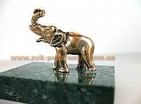 Статуэтка бронзовый Слон, сувенир на счастье