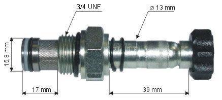 Клапан односторонньої дії Largo (1020029LG)