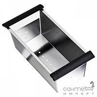 Кухонные мойки Longran Коландер для кухонной мойки Longran Geo 1.0 BK 0651 нержавеющая сталь