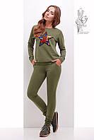 Свитшот женский и штаны Зирка из Двунитки, фото 1
