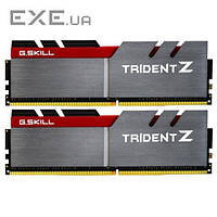 DDR-4 16GB KIT(2*8GB) PC4-25600 (PC4-3200) Trident Z G.SKILL Original (F4-3200C16D-16GTZ)
