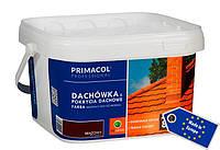 Краска цвета Антрацит для кровли и кровельных покрытий Primacol 2,5л