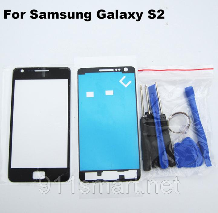 Сенсорное стекло для Samsung Galaxy S2 i9100