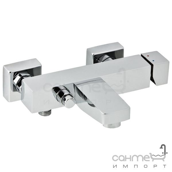 Смесители Genebre Настенный смеситель для ванны Genebre Kenjo 63100 26 45 67 Хром