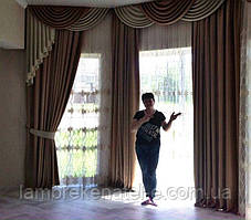 Ламбрекены шторы