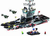 Конструктор Brick 826 Военный корабль 508 деталей