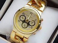Женские наручные часы Michael Kors золото с браслетом в виде цепи, фото 1